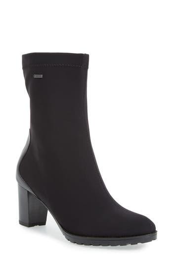 Women's Ara 'Giuliana' Waterproof Gore-Tex Zip Bootie, Size 9.5 M - Black
