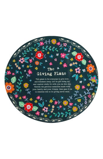 Natural Life 'The Giving Plate' Decorative Plate