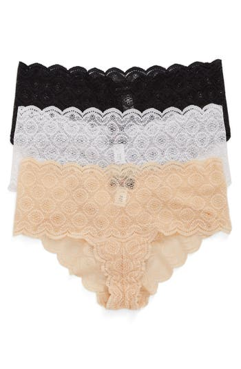 Women's Cosabella Sweet Treat 3-Pack Lace Briefs