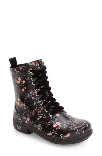 Alegria Ari Combat Boot, Grey