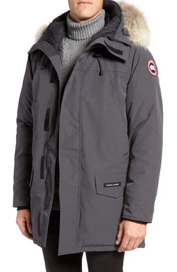 Canada Goose Langford Slim Fit Down Parka With Genuine