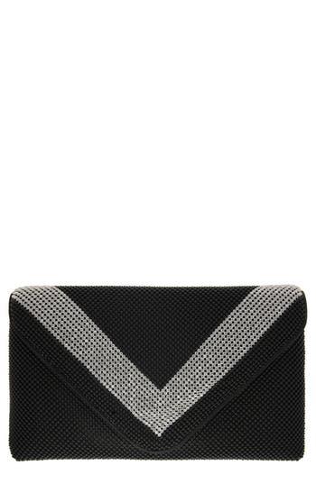 Retro Handbags, Purses, Wallets, Bags Nina Ball Kiralee Mesh Clutch - Black $75.00 AT vintagedancer.com
