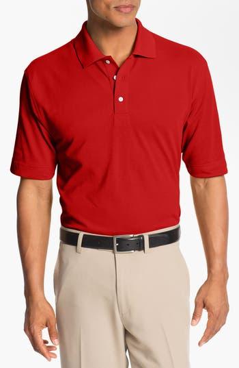 Men's Big & Tall Cutter & Buck Championship Drytec Golf Polo, Size 2XLT - White