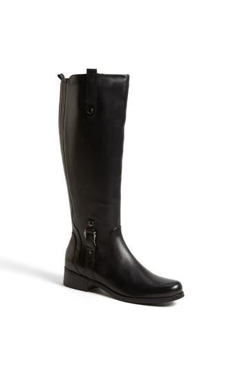 Women's Blondo 'Venise' Waterproof Leather Riding Boot, Size 12 M - Black