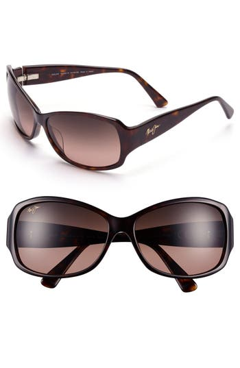 Maui Jim Nalani 61Mm Polarizedplus2 Sunglasses - Dark Tortoise