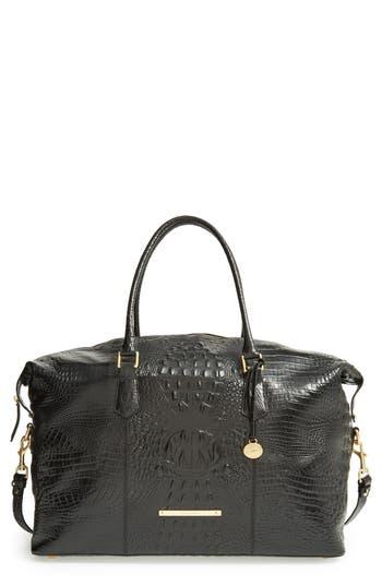 Brahmin 'Duxbury' Leather Travel Bag - Black