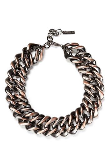 Women's Lafayette 148 New York Reversible Chain Link Necklace