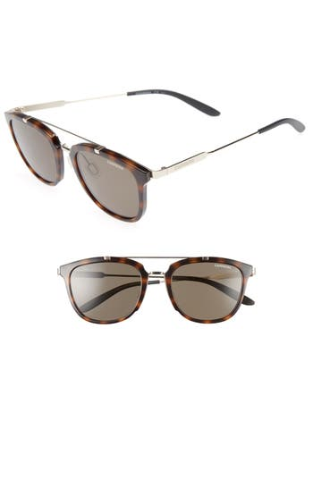 Men's Carrera Eyewear Retro 51Mm Sunglasses - Havana Gold