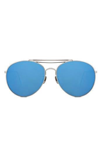 365fba68cc Gentle Monster Big Bully 60Mm Sunglasses - Silver  Blue
