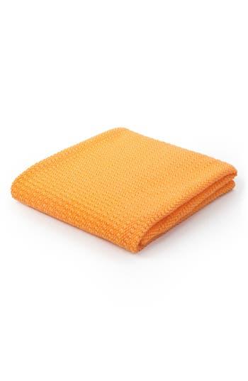 Moba Cellular Cotton Baby Blanket, Size One Size - Orange