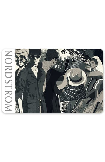 Nordstrom Urban Collage Gift Card $50