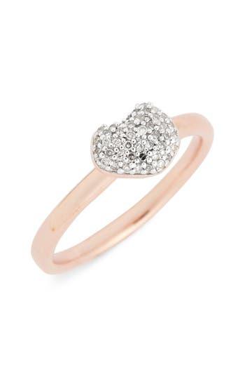 Women's Monica Vinader Nura Pave Diamond Ring