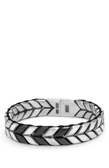 Men's David Yurman Chevron Woven Bracelet