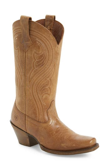 Ariat Lively Western Boot- Brown