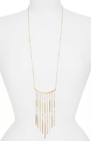 Women's Jenny Packham Fringe Pendant Necklace