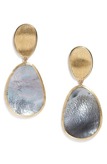 Women's Marco Bicego Lunaria Mother Of Pearl Drop Earrings