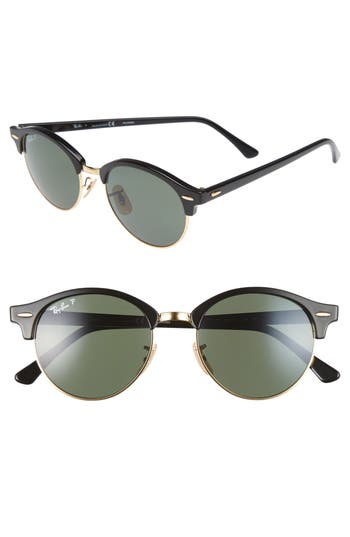 Ray-Ban Clubround 51Mm Polarized Sunglasses -