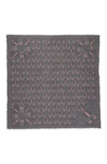 Women's Valentino Loveblade Modal & Cashmere Scarf, Size One Size - Black