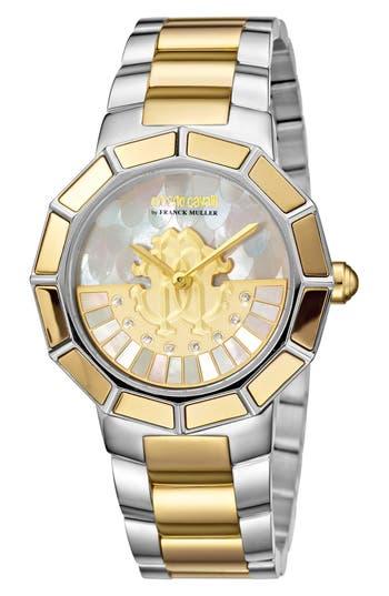 Women's Roberto Cavalli By Franck Muller Rotating Dial Bracelet Watch, 37Mm