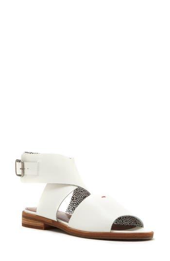 Women's Ed Ellen Degeneres Sanja Sandal, Size 6 M - White
