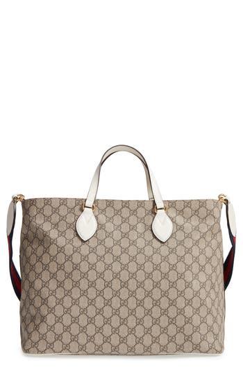 Infant Gucci Logo Print Diaper Bag -