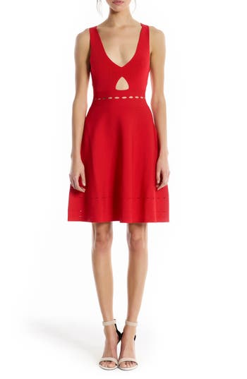 Women's Kendall + Kylie Pointelle Cutout Dress