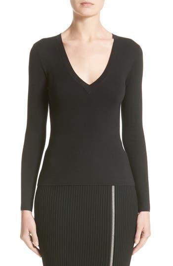 Women's Michael Kors Cashmere V-Neck Sweater