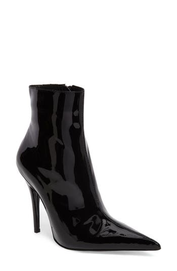Jeffrey Campbell Vedette Pointy Toe Booties, Black