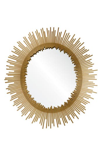 Renwil Orwell Oval Mirror, Size One Size - Metallic