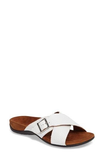Women's Vionic Dorie Cross Strap Slide Sandal