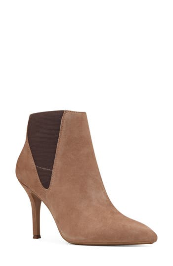 Nine West Pointy Toe Bootie, Beige