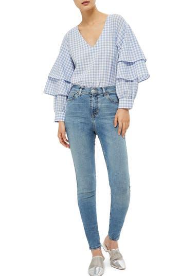 Women's Topshop Jamie High Waist Skinny Jeans