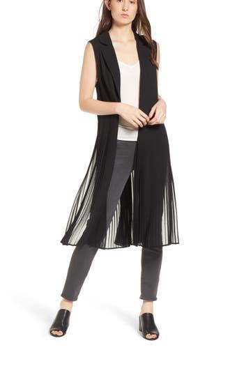 Women's Trouvé Sleeveless Pleated Vest