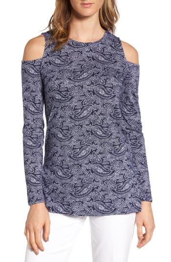Women's Michael Michael Kors Willow Cold Shoulder Top