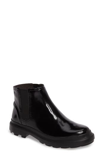 Camper Turtle Lugged Chelsea Boot Black
