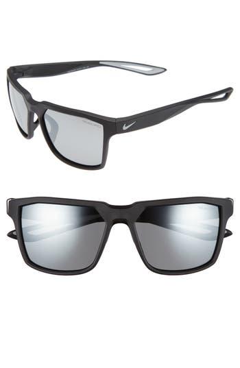 Men's Nike Bandit 59Mm Sunglasses - Matte Black/ Wolf Grey