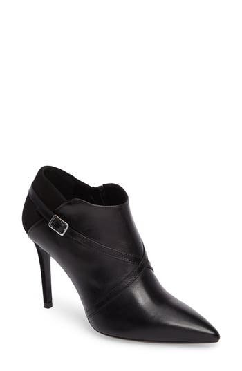 Charles David Laura Cross Strap Bootie Black