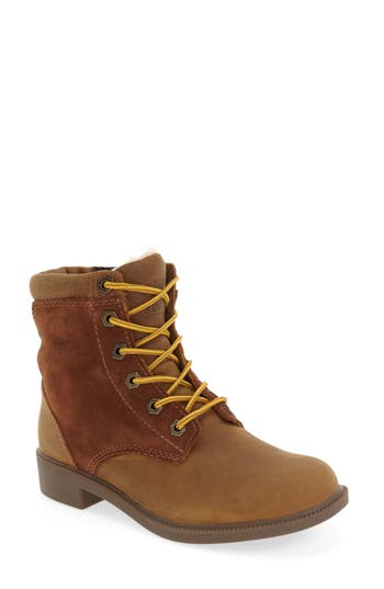 Women's Kodiak Original Waterproof Fleece Boot, Size 6 M - Brown