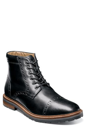 Men's Florsheim Estabrook Cap Toe Boot