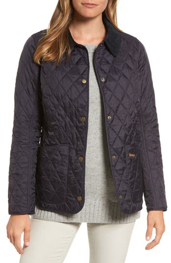 Barbour Annandale Quilted Jacket, US / 14 UK - Blue