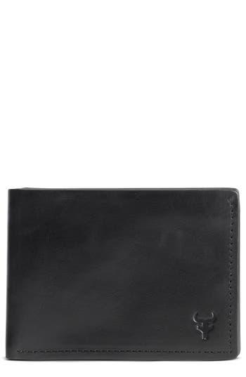 Trask Colton Super Slim Wallet - Black