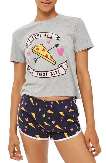 Love Pizza Short Pajamas