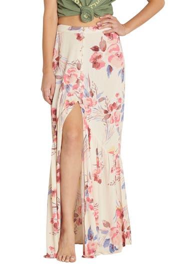 Women's Billabong Starlit Sky Floral Print Maxi Skirt