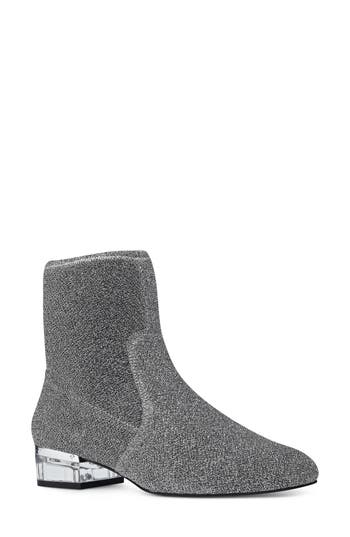 Nine West Urazza Bootie- Metallic