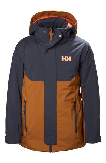 Boy's Helly Hansen Univers Waterproof Insulated Hooded Jacket