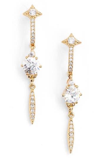 Women's Nadri Cardamom Linear Earrings