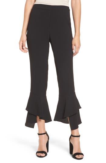 Women's Wayf Gail Ruffle Hem Crop Pants