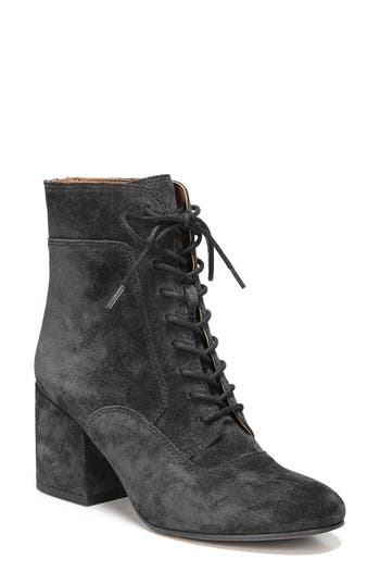Ladies Victorian Boots & Shoes – Granny boots Womens Sarto By Franco Sarto Aldrich Bootie $158.95 AT vintagedancer.com