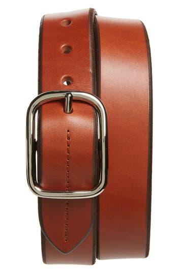 Shinola Leather Belt, Bourbon