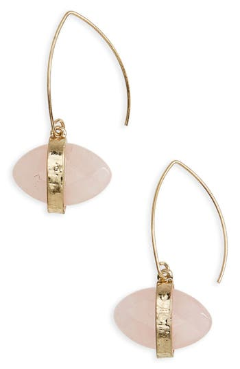 Women's Canvas Jewelry Marquise Jewel Threader Earrings
